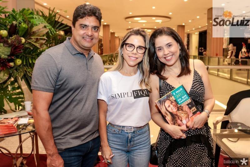 Assis Neto, Mirella Rocha e Georgia Vieira