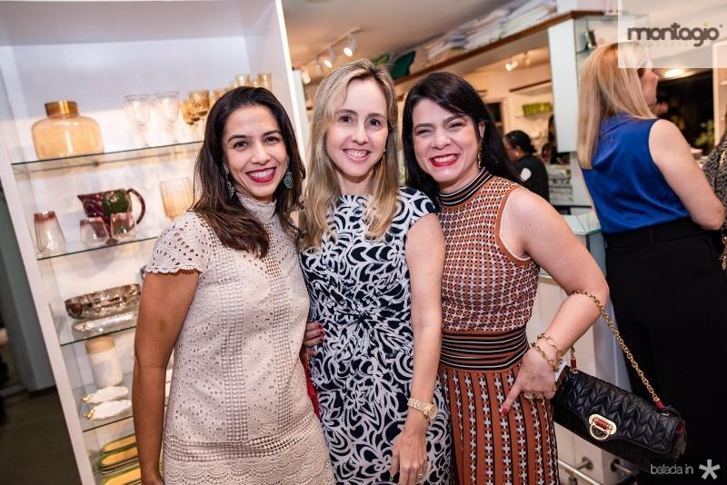 Beatriz Carvalho, Carol Fujita e Ticiana Timbo