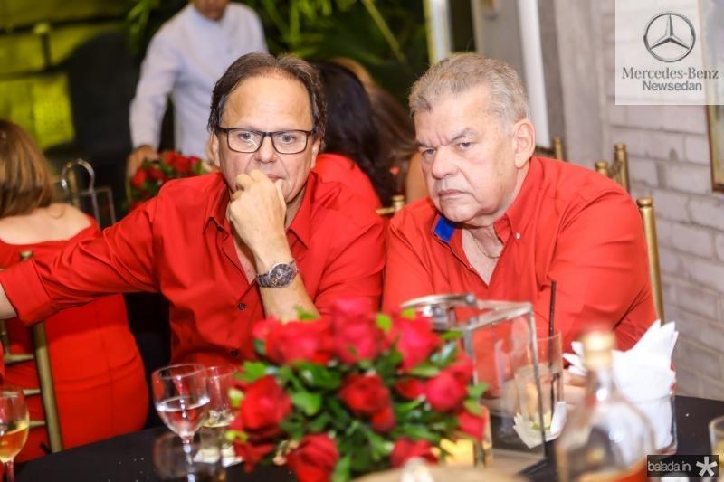 Wilton Correia Lima e Carlos Juaçaba