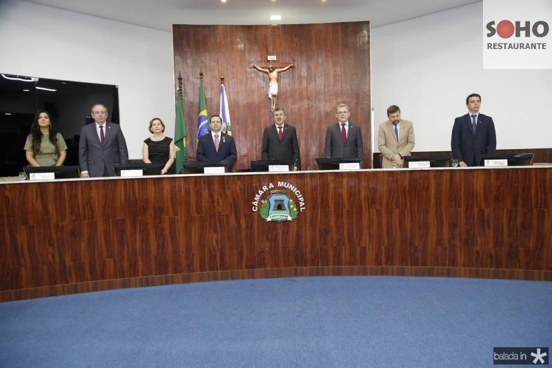 Priscila Costa, Ricardo Cavalcante, Fatima Veras, Igor Barroso, Antonio Henrique, Jose Sarto, Elcio Batista e Andre Siqueira 2