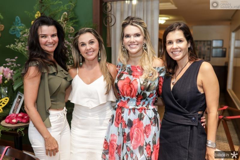 Lara Cisnando, Aninha Nobrega, Pauliane Campos e Claudia Diniz