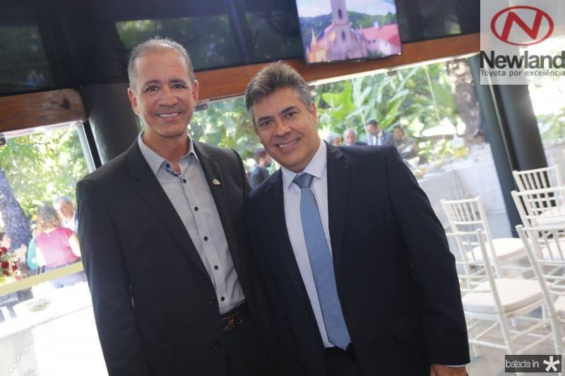 Regis Medeiros e Roberto Castro