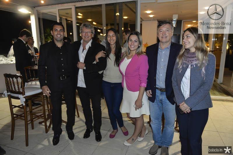 Nilson Victorino, Jose Paulo Emsenhuber, Maria, Vanessa, Sergio  Emsenhuber e Monique