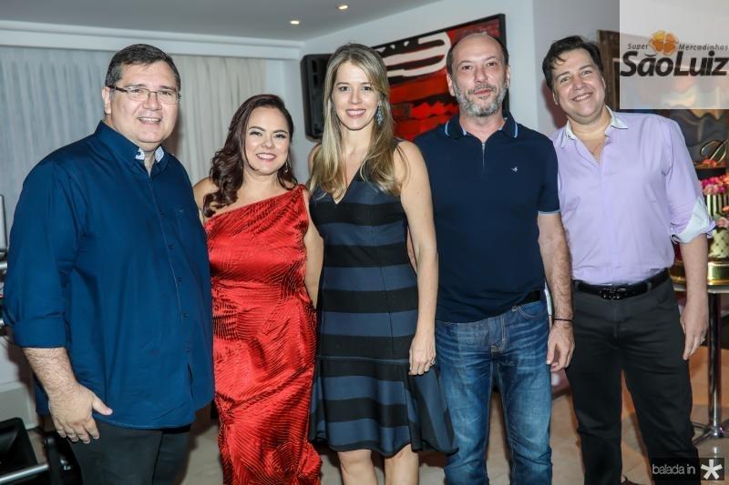 Walter Correa, Denise Cavalcante, Vanessa Veras, Ivo Gomes e Leo Bossa