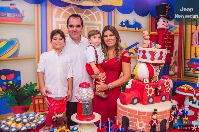 Leozinho, Leonardo, Lucas e Marina Albuquerque