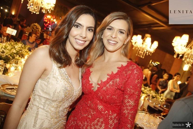 Carla Laprovitera e Aline Paiva