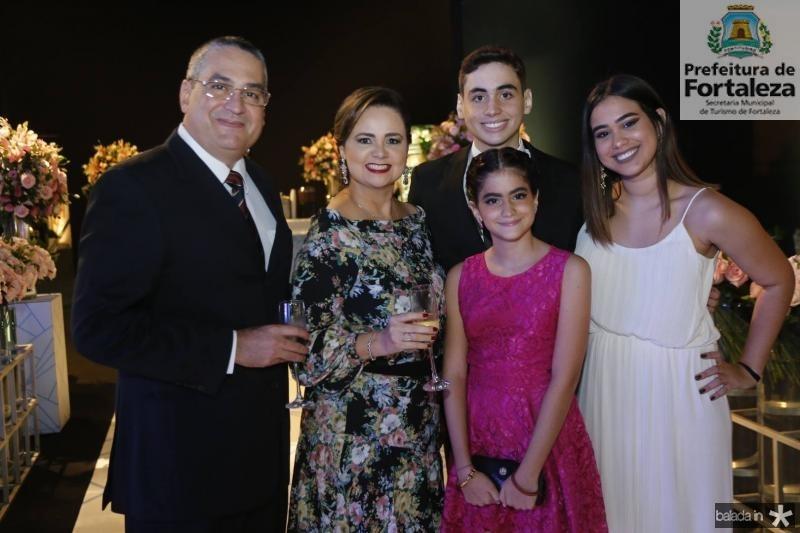 Djacir Junior, Valeria, Sofia, Igor e Gabriela Pacheco