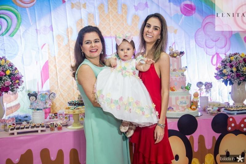 Marcia, Mirela e Vanessa Oliveira