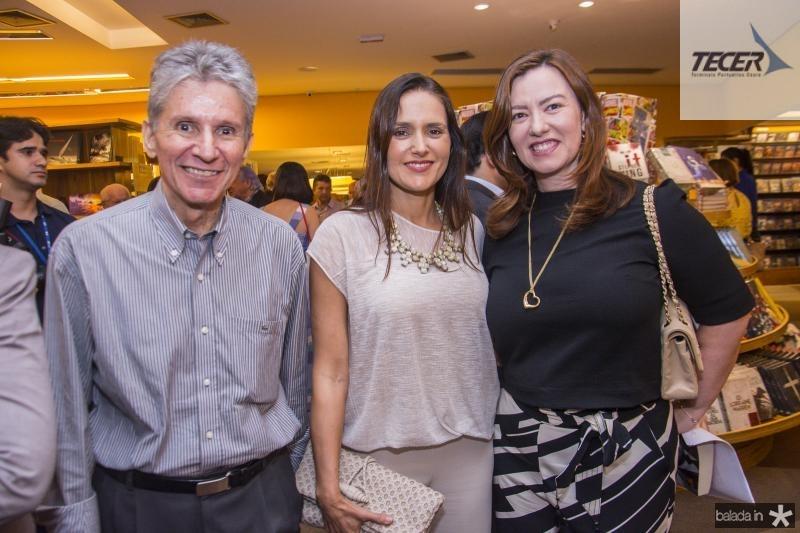 Padua Lopes, Manoela Bacelar e Aline Barroso