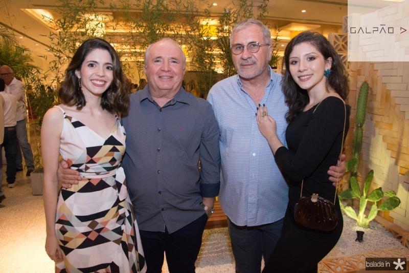 Denise, Belagio, Roberto e Ivone Brandao