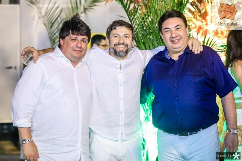 George Lima, Elcio Batista e Marcos Dias Branco