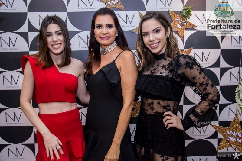 Juliana Cordeiro, Lorena Pouchain e Nicole Vasconcelos