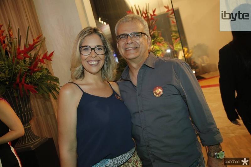 Alessandra Garcia e Giovane Carvalho