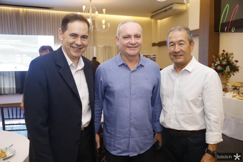Luiz Antonio Rabelo, Savio Carvalho e Coronel Rabelo