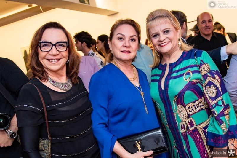 Lucia Wolf, Paula Frota e Excelsa Costa Lima