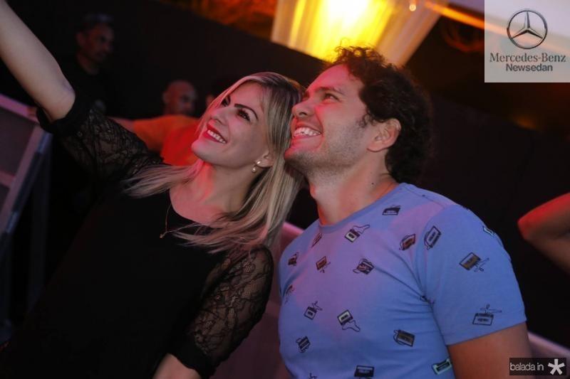 Samea Soares e Alisson Braga