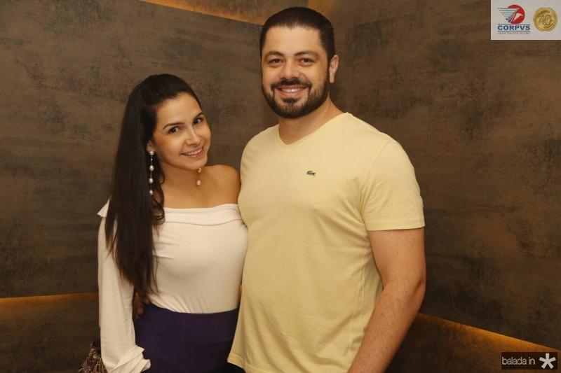 Ticiana Rolim e Rodrigo Moraes