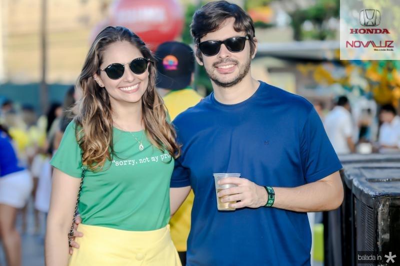 Larissa Oliveira e Bruno Facundes