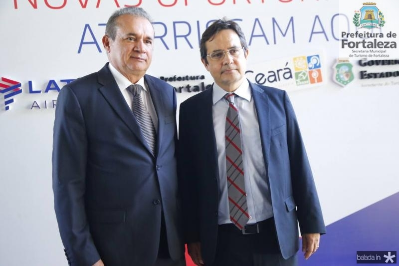 Washington Luiz e Eriberto Pontes