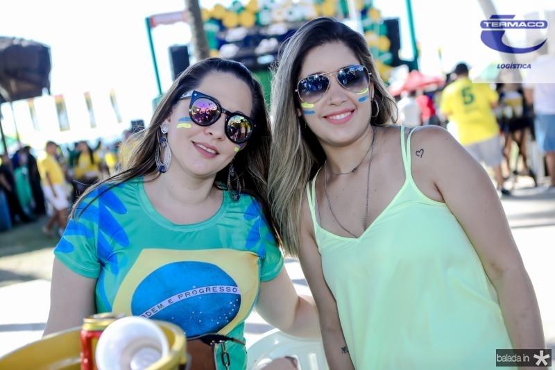 Bruna Chaves e Taina Gondim