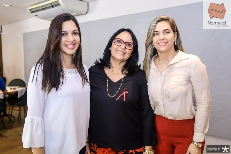 Monalisa Mazza, Cristina Monteiro e Julliana Albuquerque