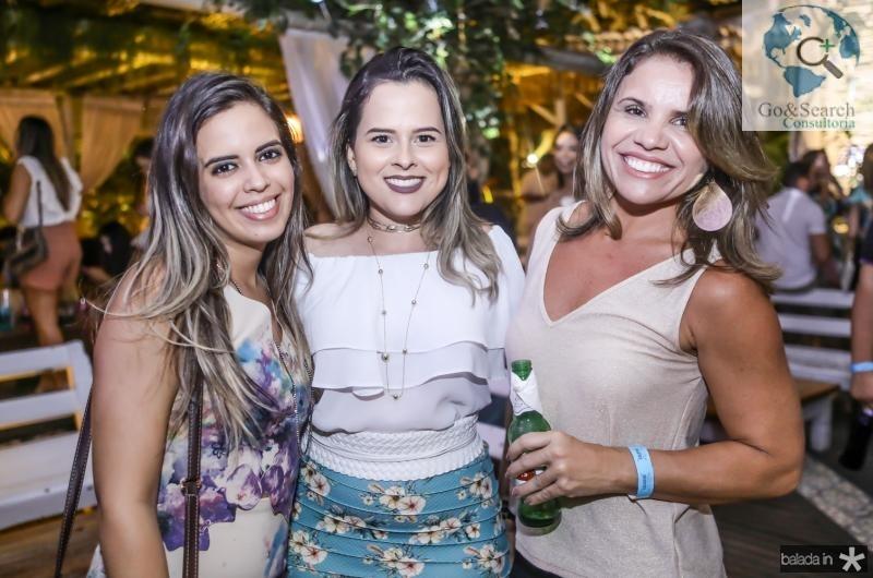 Fabricia Braz, Cerzedela Facundo e Sonia Bastos
