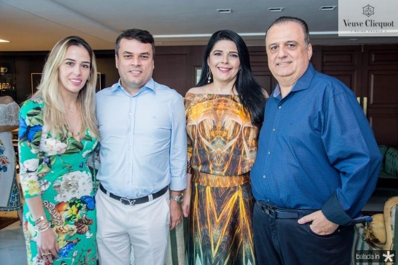 Ingrid Freire, Marcos Freire, Sellene Câmara e Max Câmara