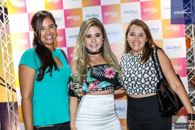 Vania Rocha, Brenda Riveli e Vitoria Sales