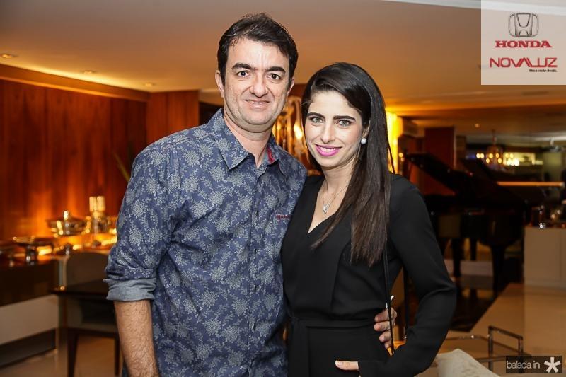 Sergio e Luciana Benevides