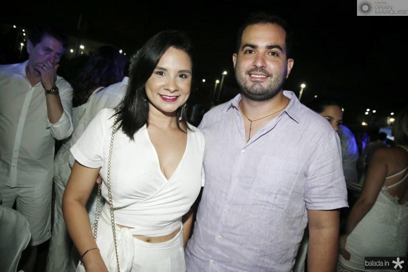Marina Cabral e Renan Cialdini