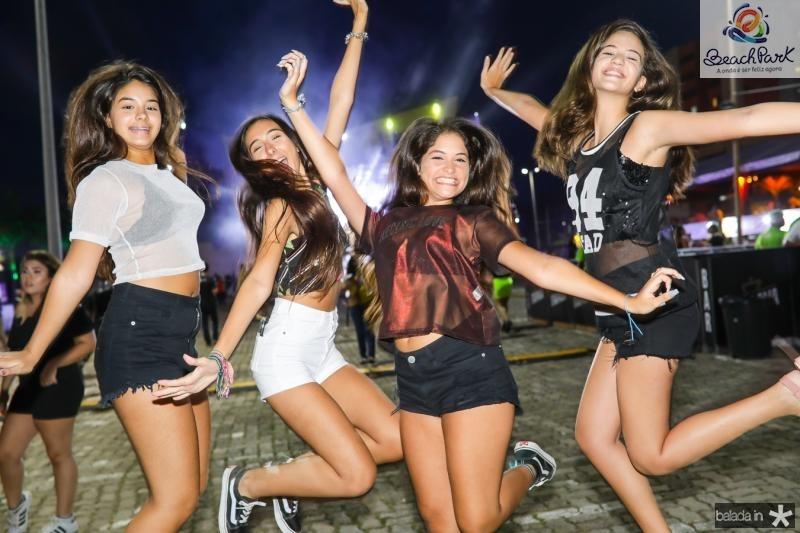 Maria Clara, Maria Vitoria, Gabriela Vieira e Samira Torres