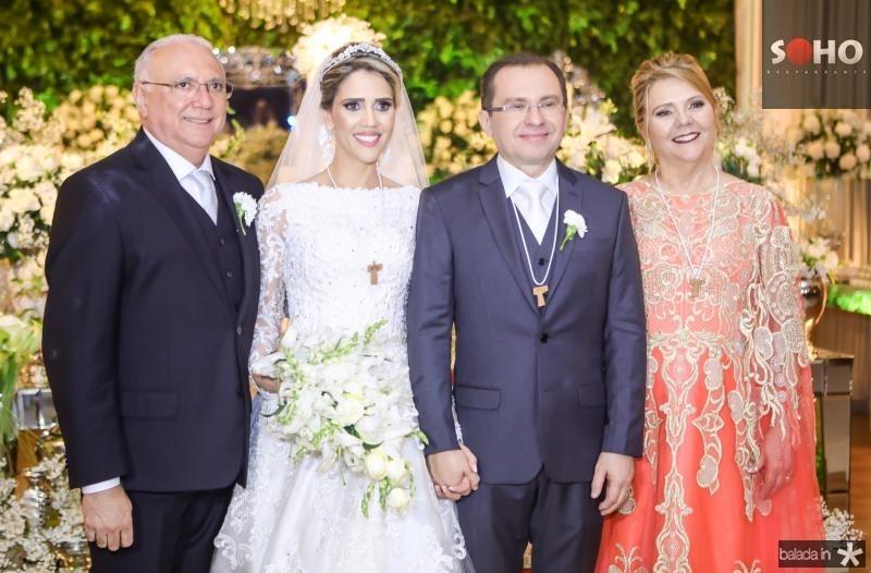 Eduardo e Luciana Perdigao, Carlos Matos e Germana Perdigao