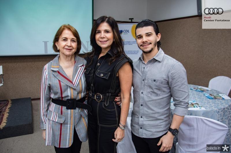 Lenita, Maria Lucia e Pedro Paulo Negrao