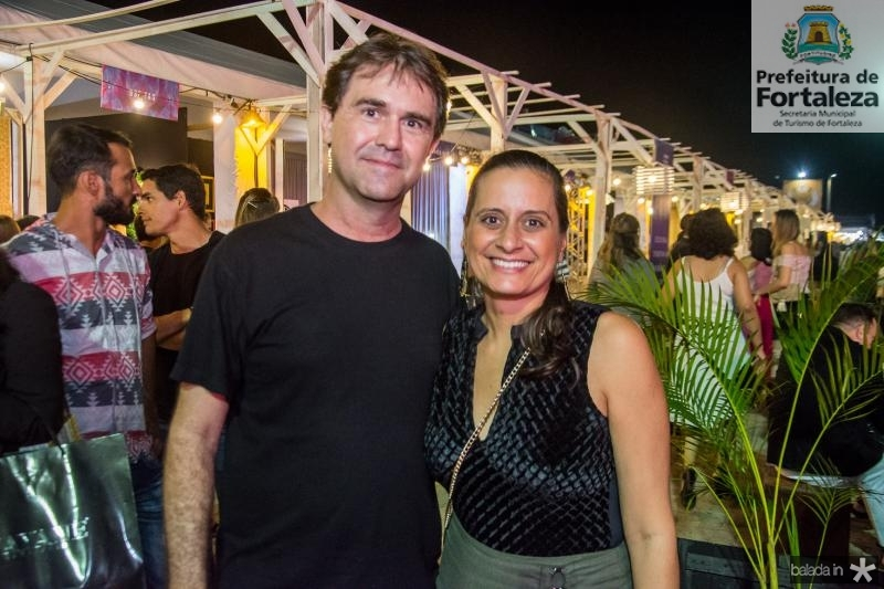 Alexandre Landim e Mariana Furlani