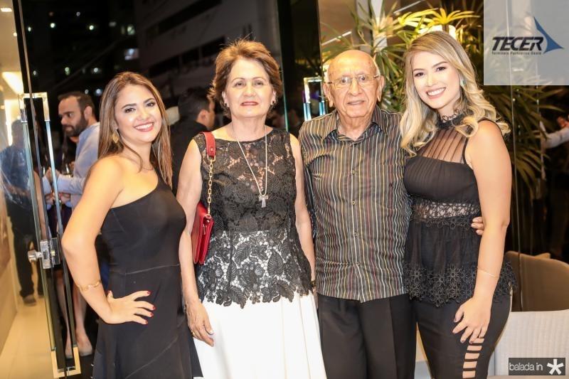 Luciana Oliveira, Monica Mourao, Ildo Costa e Raissa Bizinelli