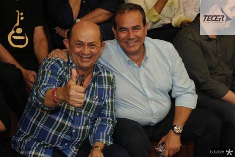 Silvino Neves e Fabio Ambrosio