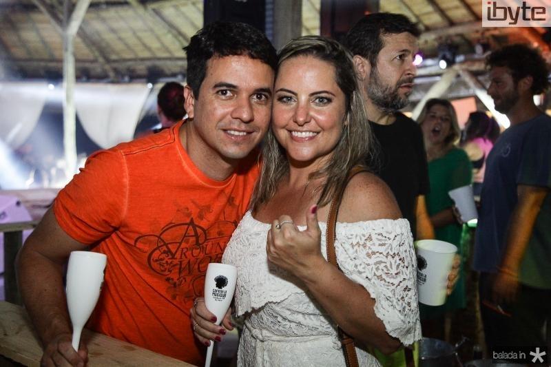 Breno Machado e Clarissa Linhares