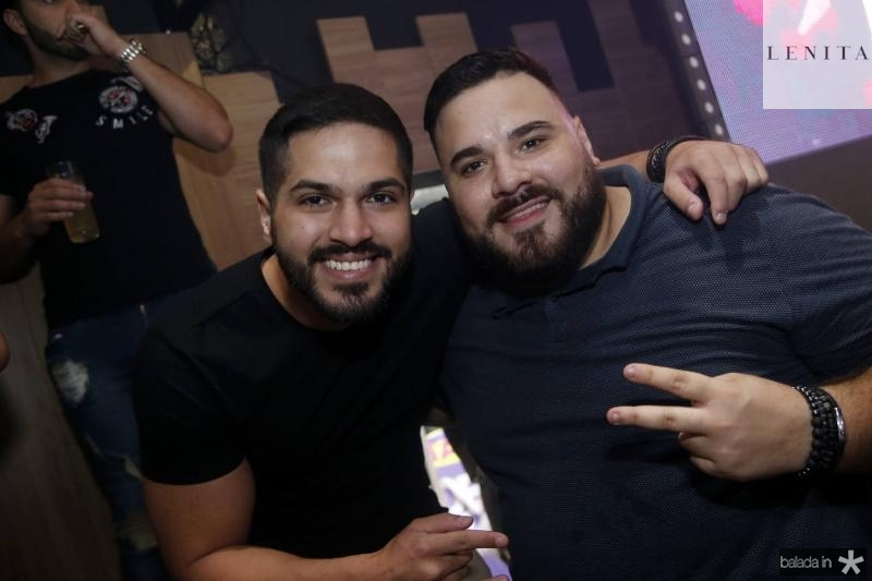 Savio Machado e Lucas Coelho