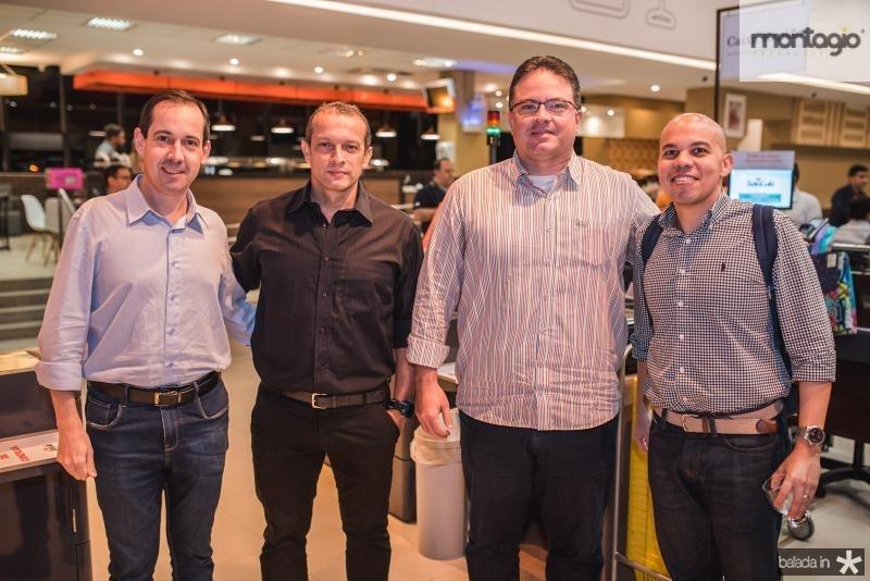 Marcelo Vargas, Marcio Malcao, Ronney Alcoforado e Yure Salbino