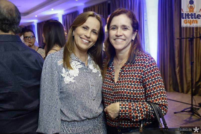 Eveline Monteiro e Riane Azevedo
