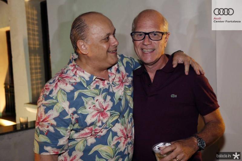 Philomeno Junior e Vitor Ciasca
