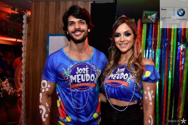 Lucas Fernandes e Ana Lucia Vilela