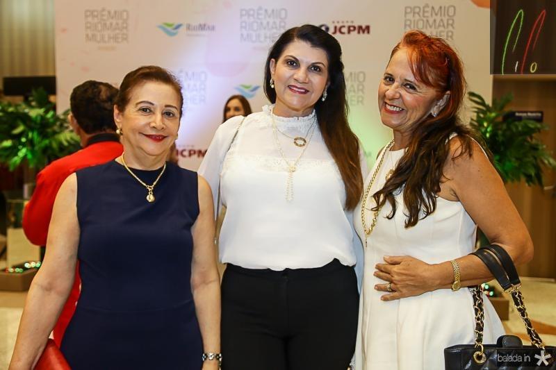 Vania Aldiguere, Candida Portela e Fatima Duarte