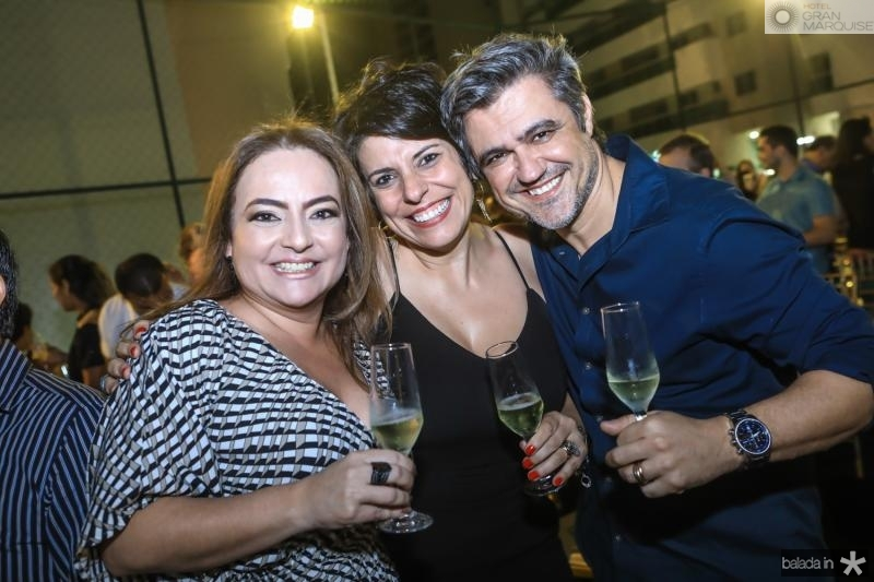 Andrea Coelho, Daniela e Fabio Monteiro