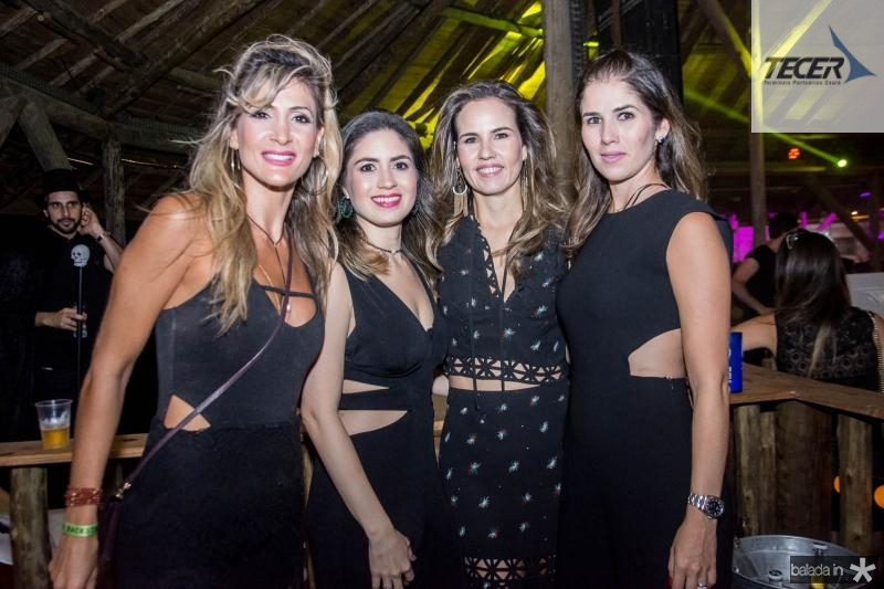 Bianca Bonorandi, Lulu Ary, Ediane Camara e Carol Borges