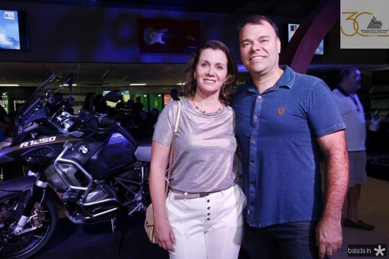 Denise Ferlin e Luciano Schaidel