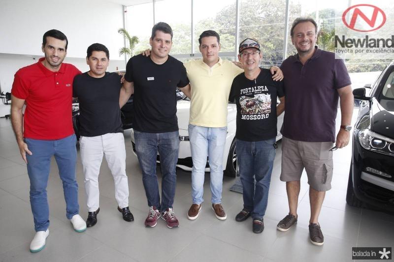 Pontes Neto, Pompeu Vasconcelos, Newton Basto, Saulo Parente, Gerardo Aguiar e Adriano Nogueira