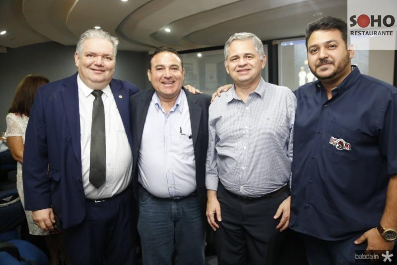 Pedro Jorge, Arnaldo Silva, Alessandro Sa Cavalcante e Igor Nogueira