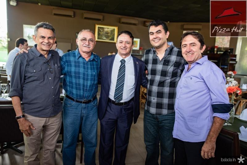 Francisco Soares, Geraldo Sinecio, Ferreira Aragao e Iraguasu Filho e Adair Junior