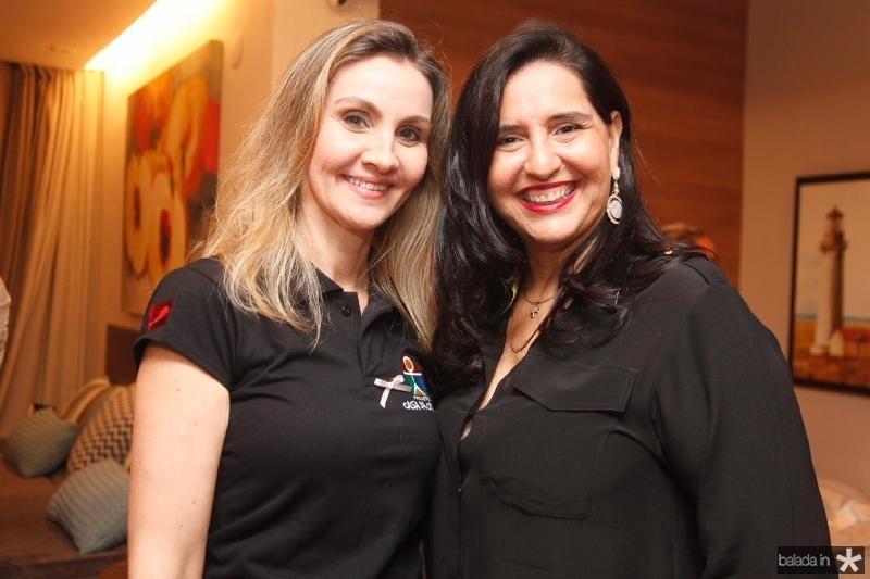 Lavinia Petribu e Ivana Mendonça